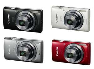 "Canon IXUS 160 Digital Camera, HD, 20MP, 8x Optical Zoom, 2.7"" LCD in Black, Red, Silver or White now £49.99 @ Argos"