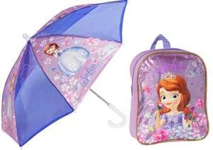 ** Disney Sofia the First Backpack and Umbrella Set only £5.99 @ Argos (Free R&C) **