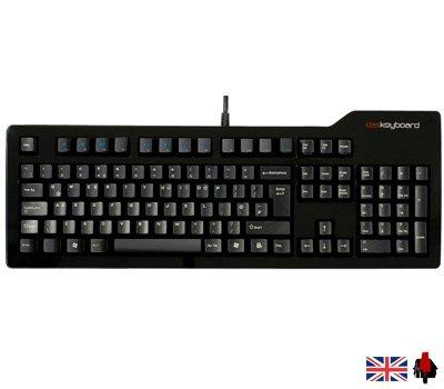 Das Keyboard - Cherry MX Red £68.40 @ kustompcs