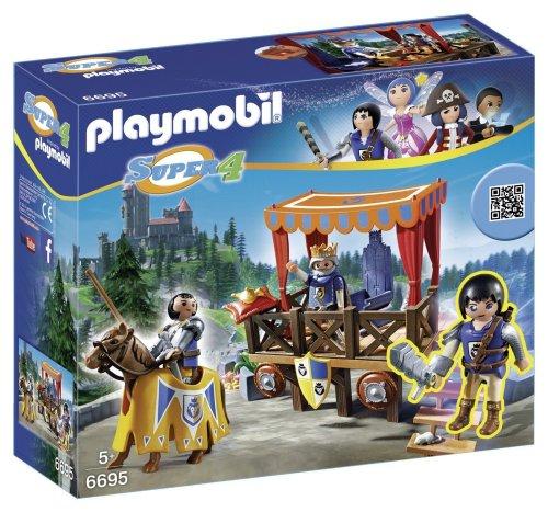 Playmobil 6695 Super 4 Kingsland Tribune £9.19  (Prime) / £13.94 (non Prime) @ Amazon