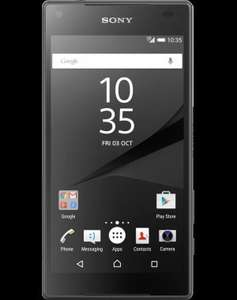 Sony Xperia Z5 Compact Black - Best Contract Mobile Phone Deals £60 at Mobiles.co.uk