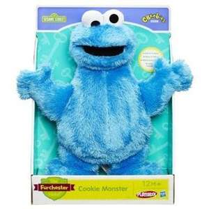 Sesame Street 'Cookie Monster' Let's Cuddle Soft Toy - £6.49 (Half Price) - Argos (As seen on the Chanchi32 Show*)