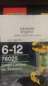 lego green lantern vs sinestro £16.77 @ Tesco express
