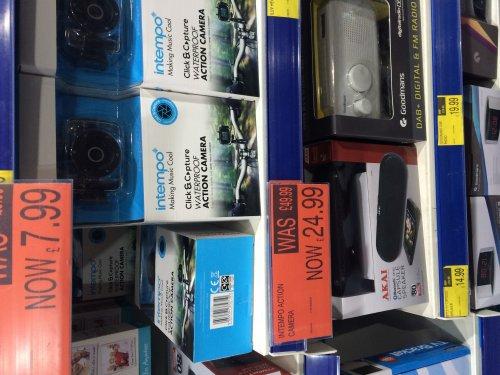 Action camera £24.99 @ B&M instore