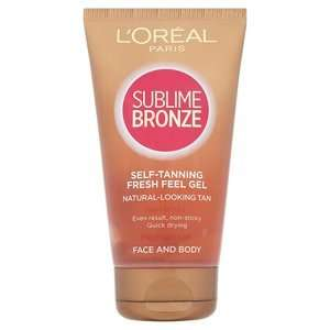 L'oreal sublime bronze body gel £3.12@ Superdrug reduced from £12.49