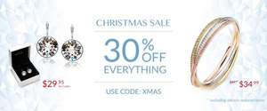 30% off everything at MYJS (My Jewellery Story) with code XMAS