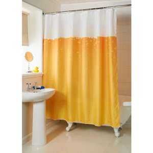 Beer Shower Curtain £1.00 @ B&M