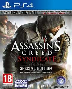 Assassin's Creed: Syndicate - Special Edition - Only At GAME (PS4/Xbox One) £24.99 Instore & Delivered @ GAME (Also Standard)