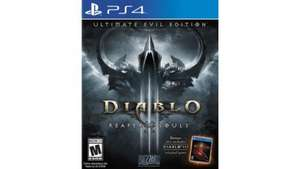 Diablo 3 Ultimate Evil Edition (PS4) £12.50 @ tesco direct (£6.25 using clubcard boost)