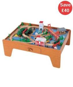 ELC Big City Wooden Rail Train Table was £125 **USE CODE TOYS20** Free home delivery £64 @ Mothercare