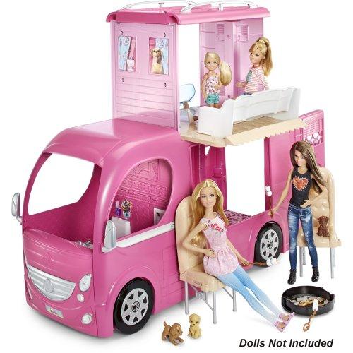 Barbie pop up camper at Argos, down to £59.99