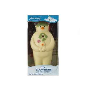 Co-op Thorntons Large Chocolate Snowman 250g £2.00