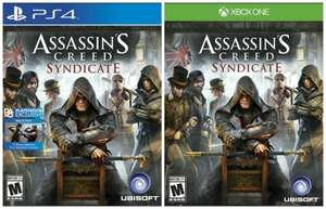 Assassin's Creed Syndicate Steelbook or Standard Xbox one / PS4 NOW LOWER.. 13.72 @ Amazon UK