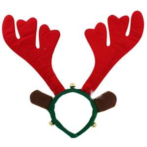 Reindeer Antlers with bells £1 @ The Works FREE CLICK AND COLLECT (possible 80p with code VBOX20)