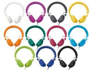 Silvercrest Headphones, 11 colours, 3 year warranty - Lidl £6.99 instore