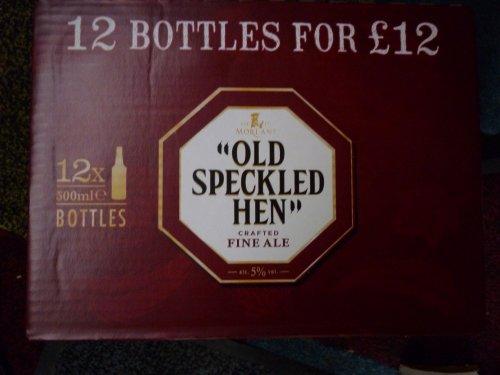 Old Speckled Hen 500ml Bottles 12 for £12 instore at Tesco