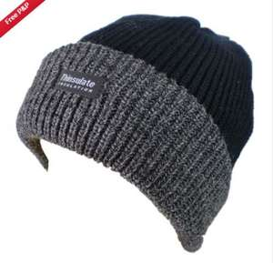 Mens chunky Genuine Thinsulate lined Beanie, just £2.79 free delivery, ebay barrys_bargains_ltd