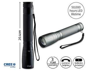 10W Cree torch £14.99 in store at Aldi from Sunday 13th December.