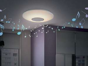 Livarno Lux LED Ceiling Light with Bluetooth Speaker in lidl