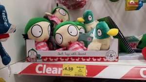 Sarah & Duck Soft Toys with sound -£4.50 each @ Tesco