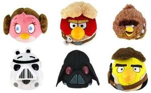 Star Wars Angry birds plush toys £1!! in poundland