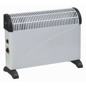Feeling Cold? 2KW Convector Heater with Thermostat Only £12.99 instore @ Home Bargains