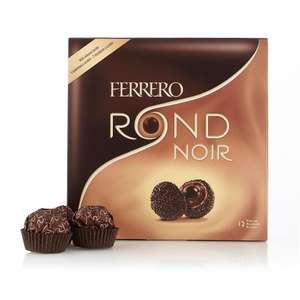 Ferrero Rond Noir half price at Debenhams @ £2.50 (You can only add to wedding wish list)
