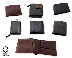 Luxury Leather Wallet/Purse £8.99 at Aldi from 13th