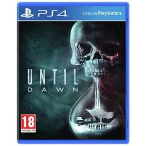 Until Dawn PS4 £18.99 @ Argos