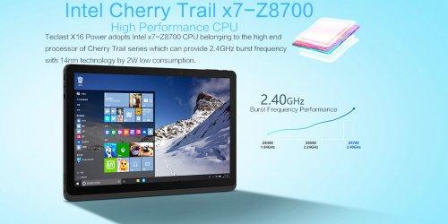"""Teclast X16 Power 8GB/64GB Win10 + Android 5.1 11.6"""" FHD IPS x7-Z8700 64bit Quad Core 1.6GHz GPS eMMC £230.16 @ GearBest"""
