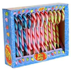 Jelly Belly Candy Canes, Pack of 12 watermelon, tutti-frutti and blueberry £4.75 @ John Lewis Click and Collect from £2.00