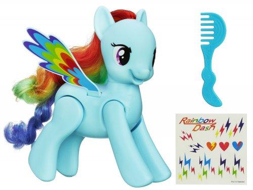 My Little Pony Flip and Whirl Rainbow Dash Figure @ Amazon £12 Prime members