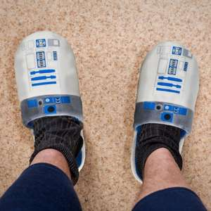 Star Wars R2D2 slippers - £4.99 (+£3.99 Delivery) @ Menkind - £8.98