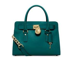 Michael Kors Hamilton Saffiano Leather East West Satchel £120.16 at Macy's