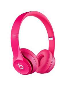 Beats by Dr. Dre Solo2 On-Ear Headphones - Pink - Normally £269 @ Amazon
