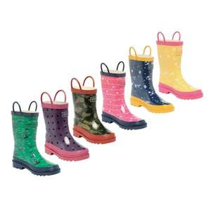 Regatta Childs Wellies £4.99 -Includes some adult sizes! @ Caseys