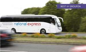 Tickets for £2 (£1.70 with code) (40% Off Standard National Express Fares For One) - UK Wide @ Groupon