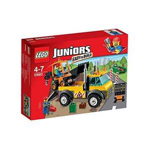 LEGO Juniors Road Work Truck 10683 £12.80 @ Tesco FREE Click & Collect + Clubcard Boost