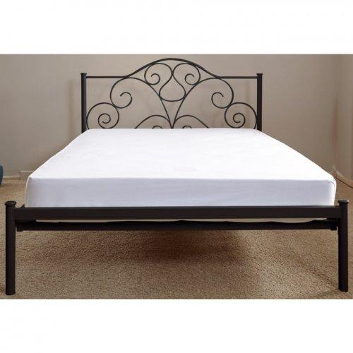 Aster King Size Bed Frame in Black just £39.99 delivered with code @ Bargain Crazy