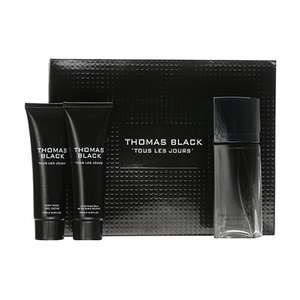Laurelle Parfums Thomas Black Pour Homme Gift Set 100ml £5.99 @ Fragrance Direct