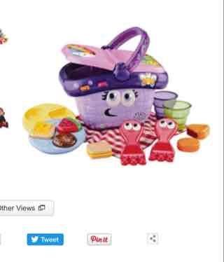 Leapfrog shapes and sharing picnic basket £11.33 @ Argos & Amazon