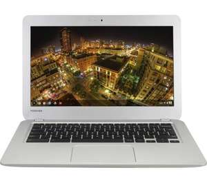 Toshiba Chromebook 2 reduced from £199.99 to £149.99 at PC World/Currys/John Lewis and Amazon with free 100GB Google Drive account upgrade