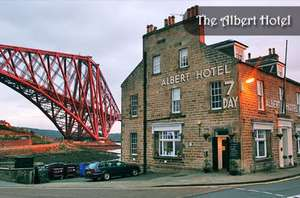 The Albert Hotel North Queensferry dining (optional dinner B&B from £69) for two from £18 at Itison
