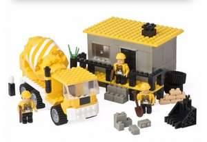ELC Construction Site Building Bricks - Was £12 now £4.80 using TOYS20 code @ Mothercare