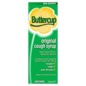 Buttercup Syrup Original Cough Syrup  200ml @ asda