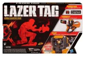 Lazer Tag Single Blaster Pack @ Tesco Direct - Was £29.99 Now £7.49 with free delivery via C&C or delivery saver