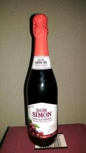 Don Simon non alcoholic sparkling red/white grape wine £1 @ Poundland
