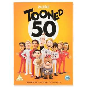 Tooned DVD 50 years of McLaren - free delivery £1 @  Mclaren / Ebay