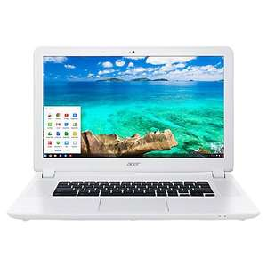 "Acer CB5-571 Chromebook, Intel Celeron, 2GB RAM, 32GB SSD, 15.6"", White £179.95 at John Lewis with 2 year  guarantee"