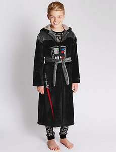 Darth Vader Boys Dressing Gown from M&S 30% off £11.90